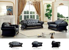 5 piece living room set amazon com esf versa living room set in black kitchen u0026 dining