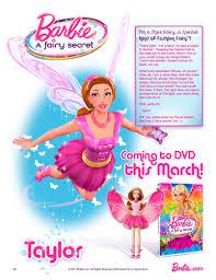 barbie movies images barbie fairy secret taylor poster