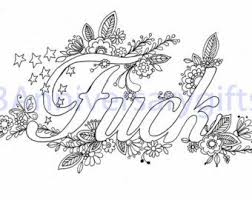 free printable coloring pages adults only swear words u2013 christmas