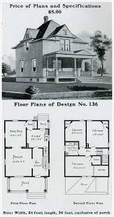 sears catalog homes floor plans architectures american foursquare house plans four square house