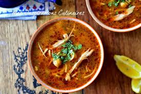 cuisine alg駻ienne facile chorba au poulet algérienne le cuisine de samar