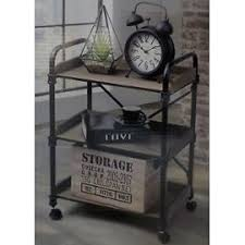 étagère en fer forgé pour cuisine mobile industrielle sur pour cuisine servante en metal