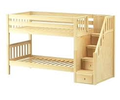 Solid Oak Bunk Bed Wooden Bunk Beds Wood Bunk Bed Low Bunk Bed With Stairs
