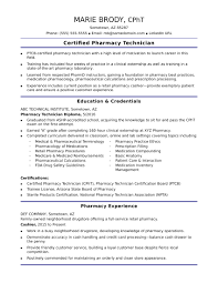 pharmacy technician resume exle entry level pharmacy technician resume sle