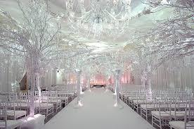 Christmas Wedding Decor - winter wedding decoration ideas trellischicago
