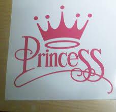 100 princess stickers for walls disney princess royal debut 034 crown princess 034 girly fun car wall decal vinyl sticker