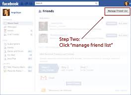 facebook resume template the christmas vacation facebook challenge 2011 a f marcom facebook friend list 02 showing the second step to finding your facebook friends list