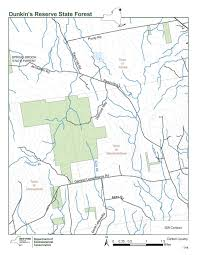 New York State Map Pdf by Dunkin U0027s Reserve State Forest Nys Dept Of Environmental