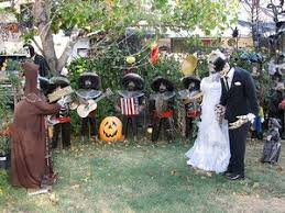 Outdoor Halloween Decoration Ideas Halloween Garden Decor U2013 Home Design And Decorating