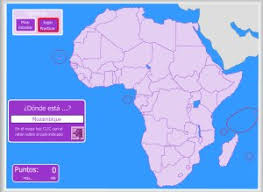 mapa de africa áfrica mapas interactivos enrique alonso juegos didácticos