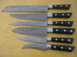 handmade kitchen knives for sale damascus steel kitchen knife set spero knives