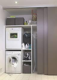cuisine avec machine à laver machine laver sous lavabo integrer machine a laver dans salle de