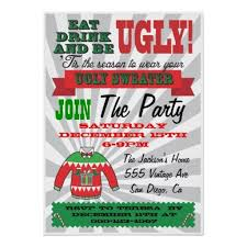Ugly Christmas Sweater Party Poem - 22 best ugly christmas sweater party invitations images on