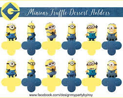 Minions Candy Buffet by Minion Candy Table Etsy