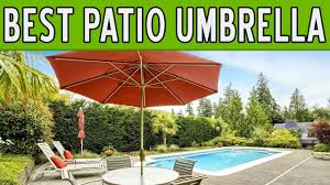 Best Patio Umbrella For Shade 13 Best Patio Umbrellas 2017