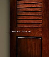 Louvered Doors Interior Residential Wood Doors Standard And Custom Styles Interior