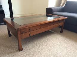 pin this image reeve midcentury coffee table 399 if you like a coffee and end tables for small spaces living room coffee and end coffee table glass top with storage