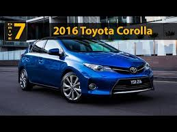 2016 toyota corolla review 2016 toyota corolla hatchback review design
