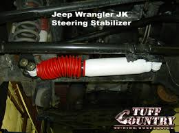 jeep steering stabilizer jeep wrangler steering stabilizer 2007 2017 by tuff country 65400