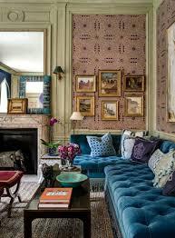wohnzimmer ecksofa chesterfield sofa ein stück klasse ins innendesign bringen