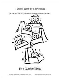 12 days of christmas coloring page make your own 12 days of christmas coloring book coloring books