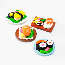 sylvanian families cuisine wholesale japnese original genuine bulks 4pcs cuisine sushi