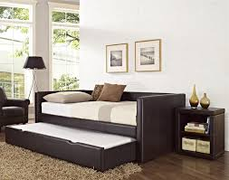 Walmart Upholstered Bed Sofa Attractive Twin Daybed Frame With Pop Up Trundle Daybed