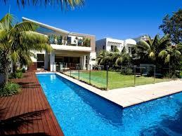 swimming pool modern deck designs for luxury backyard ideas 25