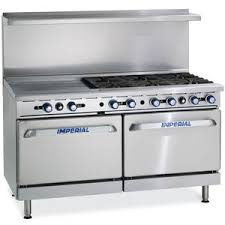 imperial convection oven pilot light imperial range ir 6 g24 xb 60in gas restaurant 6 burner range w