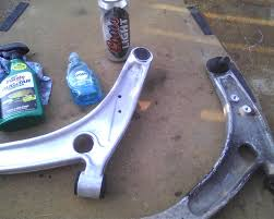 my best way to clean aluminum arms evolutionm