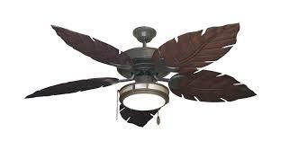 leaf ceiling fan with light outdoor tropical ceiling fans dan s fan city incredible palm leaf