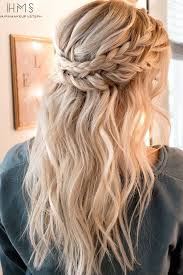 partial updos for medium length hair best 25 half up half down ideas on pinterest prom hair down