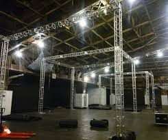 backdrop rentals av nyc inc s most recent stage or exhibit projects with truss
