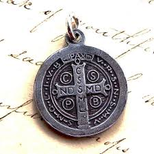 antique necklace silver images San benito medallion necklace sterling silver antique jpg