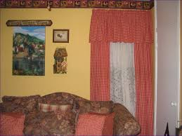 Curtains With Matching Valances Living Room Magnificent Checkered Country Curtains Drapes With