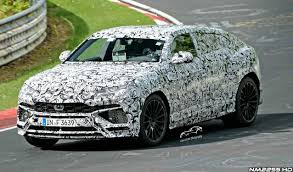 lamborghini sedan lamborghini urus suv spied testing on nurburgring
