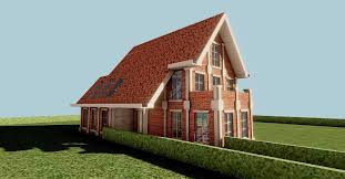 3d model dreamhome architectural assets cgtrader
