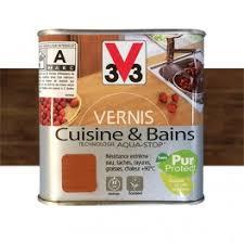 vernis cuisine v33 vernis cuisine et bains chêne foncé satin pas cher en ligne
