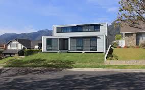 home exterior design material modern blue design of the exterior design of the orange and blue