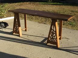 nobleman u0027s trestle table sca camping pinterest trestle