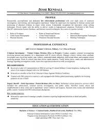 Resume Summary Examples Entry Level by Sample Police Officer Resume Free Resume Example And Writing