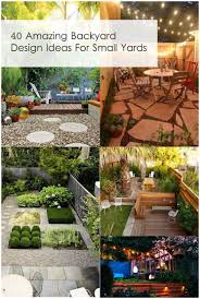 Small Back Garden Design Ideas by Backyards Outstanding Amazing Small Back Garden Design Ideas As