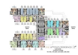 world floor plans one uptown