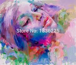 snazaroo face paint modern woman portrait painting bright colors