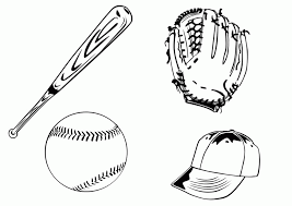 free baseball coloring pages coloring home