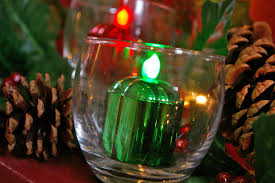 Christmas Lights In A Vase by Bring The Magic Of Christmas Lights To Your Table Centerpiece