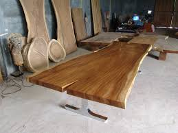Acacia Wood Dining Table Slab Wood Dining Table Uk Best Gallery Of Tables Furniture