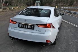 white lexus is 250 2014 2013 lexus is250 review caradvice