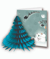 3d christmas cards competition time win 48 of pulp 3d honeycomb christmas cards