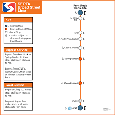At T Service Map Septa Papal Visit Service Maps